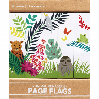 Image of Page Flags : Animal Menagerie