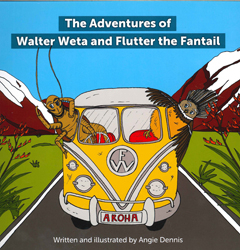 Adventures Walter Of Weta And Flutter Fantail