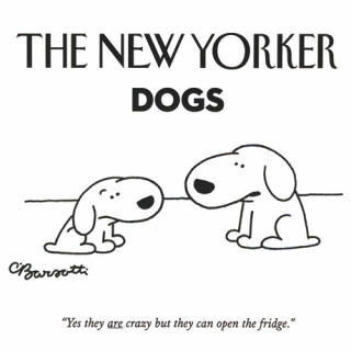 Image of New Yorker Dog Notecards