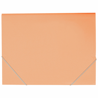 Image of Document Wallet Fm A4 Pastel Sunset Orange