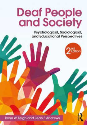 Image of Deaf People And Society : Psychological Sociological And Educational Perspectives