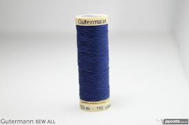 Image of Gutermann Thread Dark Royal Blue 100m