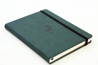 Journal Dingbats Wildlife A5 Lined Green Deer