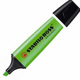 Image of Highlighter Stabilo Boss Green