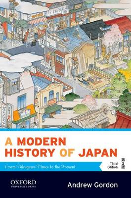 Image of A Modern History Of Japan : From Tokugawa Times To The Present