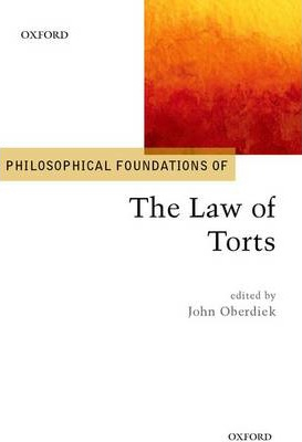 Image of Philosophical Foundations Of The Law Of Torts
