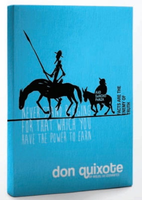Image of Don Quixote : Hard Cover Notebook