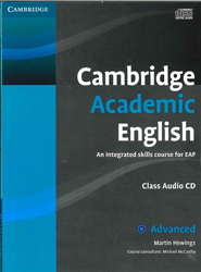 Image of Cambridge Academic English : Advanced C1 : Class Audio Cd