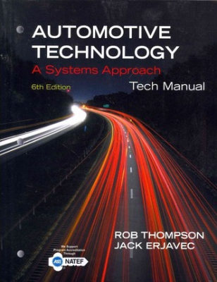 Image of Tech Manual For Erjavecs Automotive Technology A Systems Approach