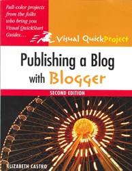 Image of Publishing A Blog With Blogger Visual Quick Project