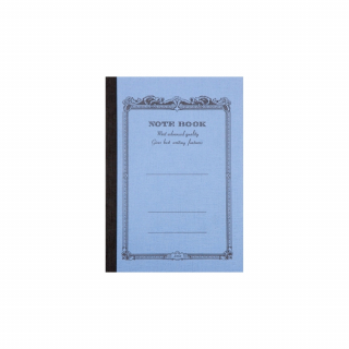 Image of Notebook Apica B7 Lined Mid Blue