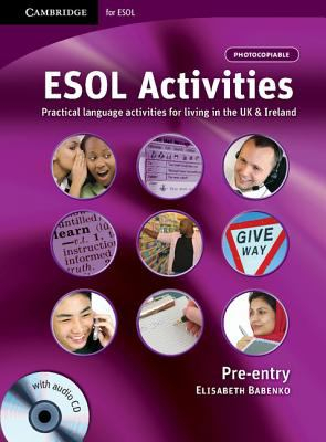 Image of Esol Activities Pre-entry With Audio Cd