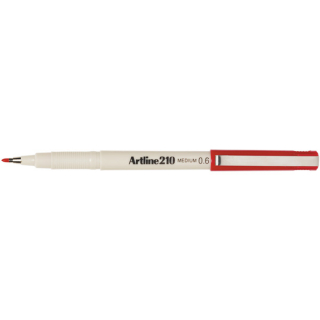 Image of Pen Artline 210 0.6mm Red