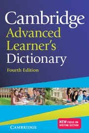 Image of Cambridge Advanced Learners Dictionary