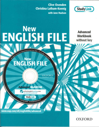 Image of New English File : Advanced : Workbook Without Key & Multi-rom