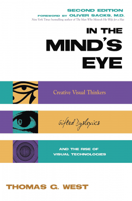 Image of In The Minds Eye Visual Thinkers Gifted People With Learningdifficulties Computer Imaging & The Ironies Of Creativi