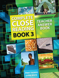 Image of Complete Close Reading : Book 3