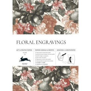 Image of Floral Engravings : Gift And Creative Paper Book Vol 79
