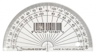 Image of Protractor Taurus 180 10cm