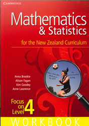 Image of Mathematics And Statistics For The New Zealand Curriculum : Focus On Level 4 : Workbook