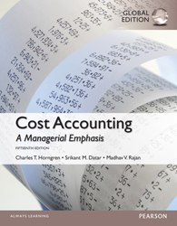Image of Cost Accounting : Global Edition