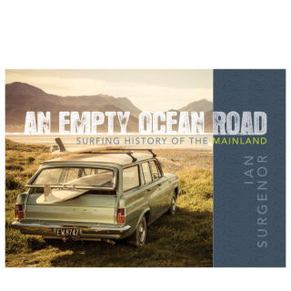 Image of An Empty Ocean Road : Surfing History Of The Mainland
