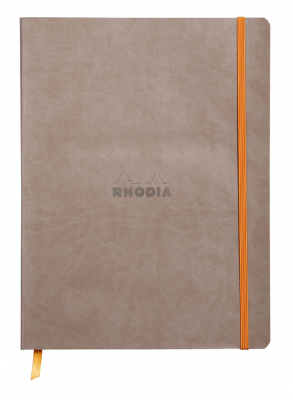 Notebook Rhodiarama Softcover B5 Dot Taupe