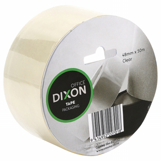 Image of Tape Dixon Packaging Clear 48mm X 50m