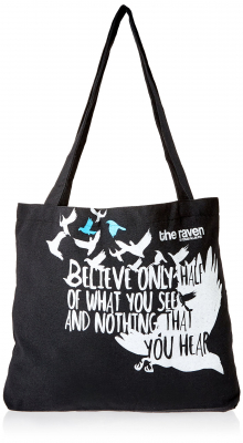 Image of The Raven : Tote Bag