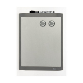 Image of Whiteboard Quartet Silver Magnetic 220 X 280mm