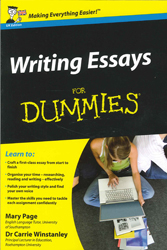 Image of Writing Essays For Dummies