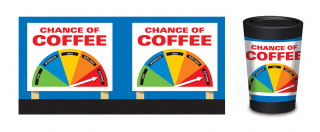 Image of Cuppacoffeecup Coffee Cup Chance Of Coffee