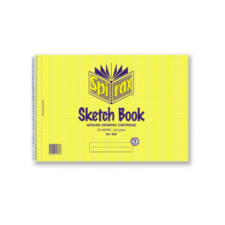 Image of Sketch Book Spirax 534 A4 20 Leaf
