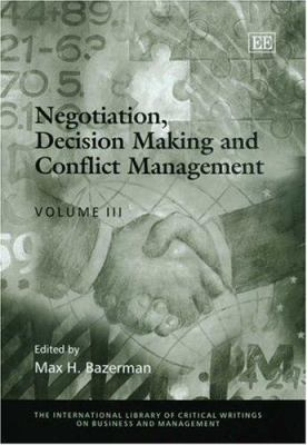 Image of Negotiation Decision Making And Conflict Management
