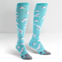 Image of What Do You See : Women's Knee High Socks