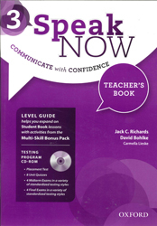Image of Speak Now 3 : Teacher's Book With Testing Cd-rom And Online Practice