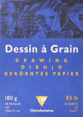 Image of Drawing Pad Dessin A Grain A5 180gsm