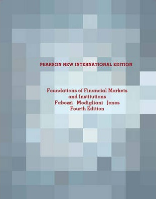Image of Foundations Of Financial Markets & Institutions Pnie