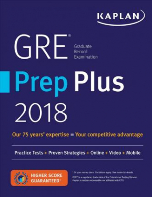 Image of Gre Prep Plus 2018 : Practice Tests + Proven Strategies + Online + Video + Mobile