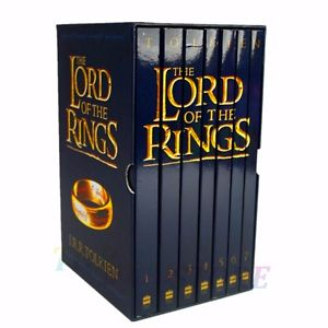 Image of The Lord Of The Rings : Seven Book Slipcase