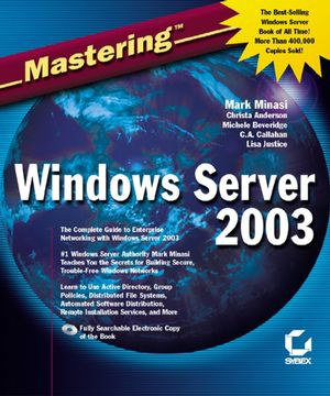 Image of Mastering Windows Server 2003