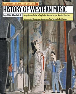 Image of History Of Western Music : Harper Collins College Outline