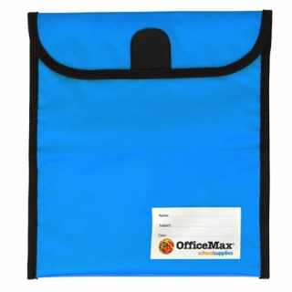 Image of Book Bag Office Max Large Blue