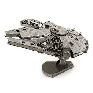 Image of 3d Metal Model Kits Metal Earth : Millennium Falcon