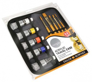 Image of Paint Simply Acrylic Travel Set