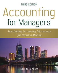 Image of Accounting For Managers : Interpreting Accounting Information For Decision Making