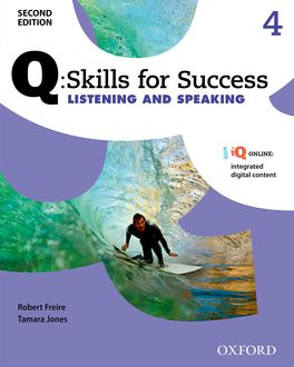 Image of Q : Skills For Success 4 : Listening And Speaking Student's Book + Iq Online