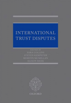 Image of International Trust Disputes