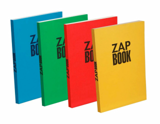 Image of Notebook Zap Book Recycled A4 Assorted