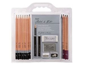 Image of Sketch Set Jasart Sketch And Write 18 Piece